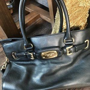 Michael Kors Black Hamilton purse /bag